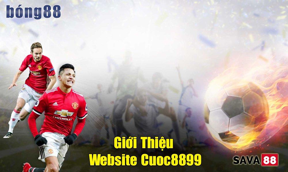 Giới thiệu website Cuoc8899