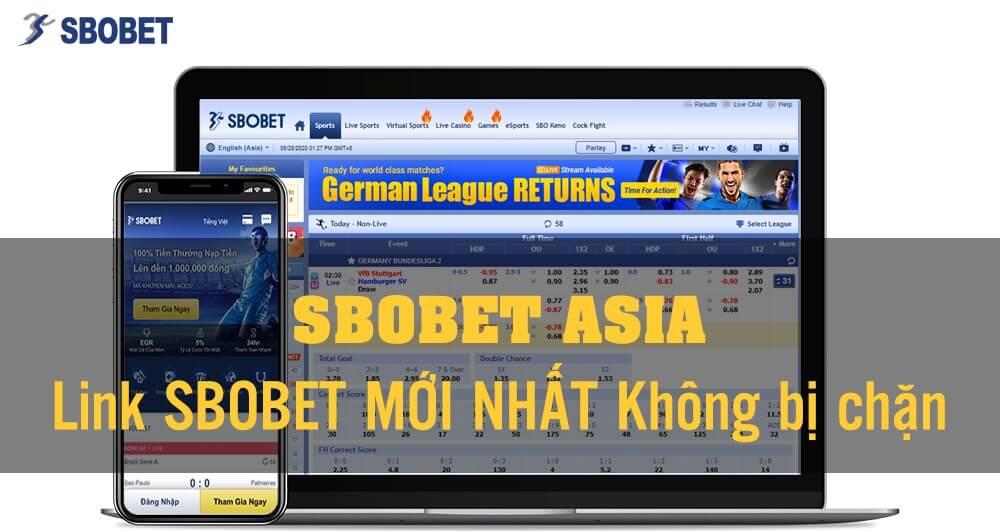 Link đăng nhập SBOBET 2021
